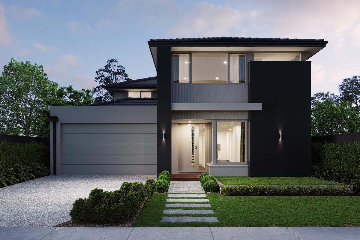Aspire St Clair Double Story Facade